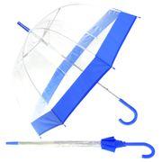 Parapluie d�'me transparent - Femme