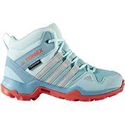Adidas - Terrex AX2R MID CP Enfants chaussures de randonnée (bleu clair/rouge)