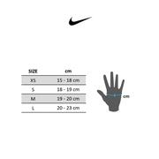 Gants Nike Elemental Fitness noir gris blanc femme
