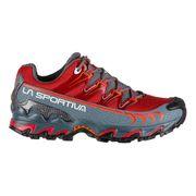 Chaussures La Sportiva Ultra Raptor GTX rouge gris femme