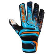 Reusch Prisma SG Finger Support LTD Gant de gardien pour homme Black/Blue/Orange