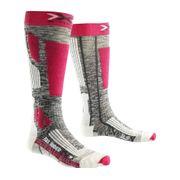 Chaussettes De Ski/snow Sidas  Femme Ski Riderlady2.0 Gr/fushia