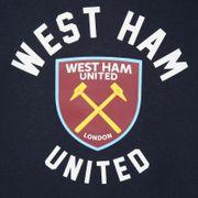 West Ham United FC officiel - Pull à capuche thème football pour garçon - polaire - motif graphique