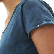 Tee-Shirt FLEX JACQUARD TEE W Storm Blue - Femme - Randonnée