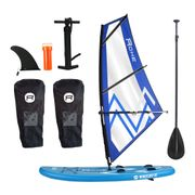 Pack Stand Up Paddle gonflable ROHE Planche à voile WINDSURF 10' x 30'' x 6'' (305 x 76 x 15 cm) avec gréement complet 3m² - avec accessoires