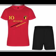 Ensemble de foot Belgique enfant News Taille 4 é 12 ans - 4 ans rouge
