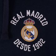 Real Madrid officiel - Pull zippé à capuche thème football - polaire - homme