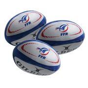 Ballon de jonglage rugby Gilbert France (x3)
