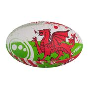 Optimum Nation Wales Mini Rugby League Union Ball