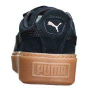Basket Puma Suede Platform Bubble Wn  366439 - 01 Noir