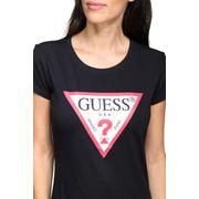 Tee shirt femme Guess O94i02 - J1311 A996 Noir