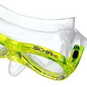 LUNETTES DE PLONGEE - MASQUE DE PLONGEE  Masque et Tuba de plongée Ischia Silter - Médium - Jaune