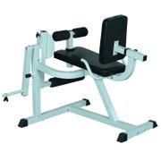 Appareil de Fitness musculation des jambes flexion extension dossier et résistance réglable 113L x 95l x 99H cm gris et noir neuf 36