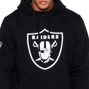 Sweat à capuche New Era avec logo de l'équipe Oakland Raiders