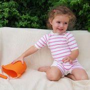 Saint Trop Mayo Parasol Combinaison de plage anti UV bébé fille
