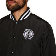 Bomber NBA Boston Celtics New Era Team Apparel Jacket Noir pour Homme Taille - L