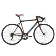 Vélo de course 28'' Piccadilly noir-orange-bleu TC 56 cm KS Cycling