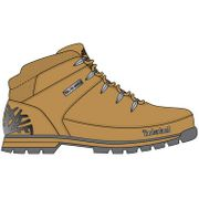 Timberland Euro Sprint Hiker Wheat Waterbuck , 9, Medium
