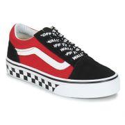 vans chaussure authentic enfant rouge-noir vn0a38h3vi71 textile textile 27