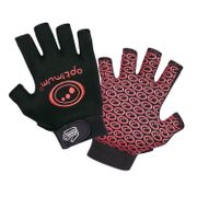 Optimum Stik Mit Rugby Gloves Black / Red - Large