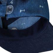Casquette Buff 5 Panel Cap Arrows Denim bleu marine enfant