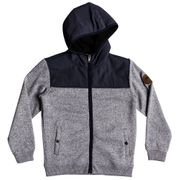 QUIKSILVER Keller Mix Sherpy Sweat Zip Garçon