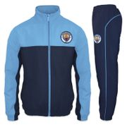 Manchester City FC officiel - Lot veste et pantalon de survêtement thème football - homme