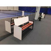Banc de tennis alu publicitaire Carrington