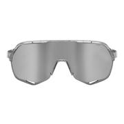 Lunettes 100% S2 translucide verre à effet miroir hiper gris