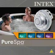 Intex Lampe à LED multicolore pour spa à bulles et jet 28504