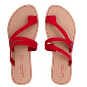 Sandales Rouge Femme Les Petites Bombes Texane