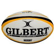 Mini ballon de rugby Gilbert Wasps (taille 1)