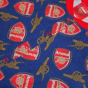Arsenal FC officiel - Combinaison de pyjama thème football - enfant
