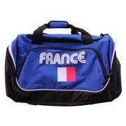 Sac de sport 55 L - marquage FRANCE - supporter équipe de France - bleu roi