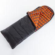 Greenland  - Sac de couchage couverture - 220x80cm - noir - zip gauche