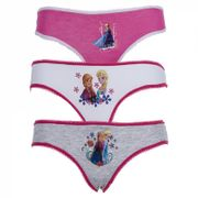 Lot De 3 Slips Coton Disney Frozen