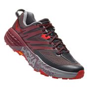 Chaussures Hoka One One Speedgoat 3 gris rouge noir
