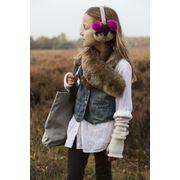BARTS-Gants en polaire rose tendre enfant fille du 4 au 12 ans Barts