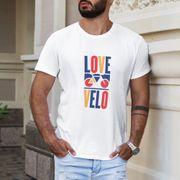 T-shirt Love velo