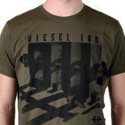 T-Shirt Diesel T-Rison Rs 51f Kaki