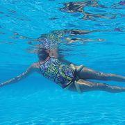 Anneau mousse pour piscine taille 44 - 48 Snake System 60 aquafitness OKEO