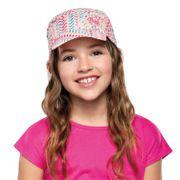 Casquette Buff Pack Kids Cap Kumkara Multi rose multicolore enfant