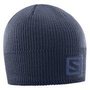 Bonnet Salomon Logo gris bleuté