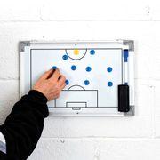 Conseil de tactique de mur de football du football à double face de formation de précision petit
