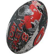 BALLON DE RUGBY  Ballon de rugby SUPPORTER - Pays de Galles Toby Faletau - Taille 5