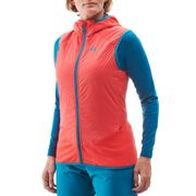 Veste LD EXTREME RUTOR ALPHA COMPO VEST Poppy Red - Femme - Ski de randonnée