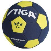 BALLON DE FOOTBALL  Ballon de football Coupe du monde 2018 - Bleu et jaune - Taille 5