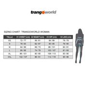 Legging long Trangoworld Liendo noir bleu femme