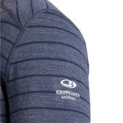 T-shirt de ski Icebreaker Oasis LS Crewe SH100476NAV