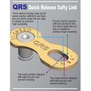 Maillon Rapide chaine 8 9 vitesses Yaban QRS Quick Release